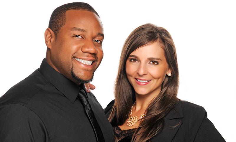Lori and Rashawn Brewster